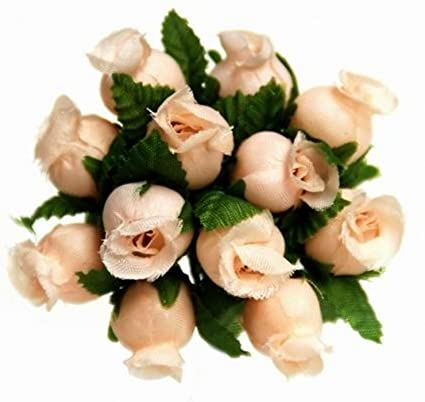 Amazon 144 Miniature Poly Rose Silk Favor Flower Pick Wedding
