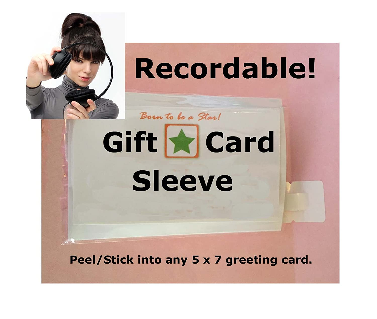 Amazon Recordable 60 Second Gift Card Gadgets Make Any