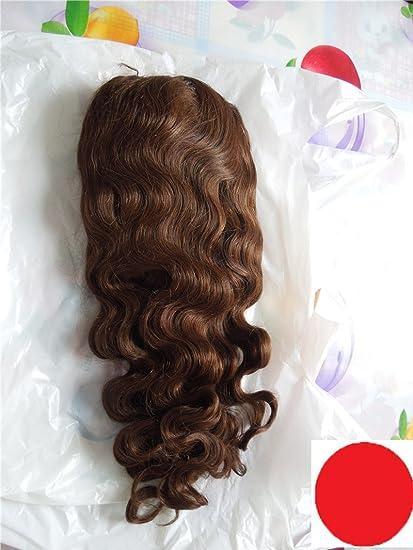 Buen Quanlity Nueva humano pelucas de cabello completa encaje peluca chino Virgin Remy Cabello humano cuerpo