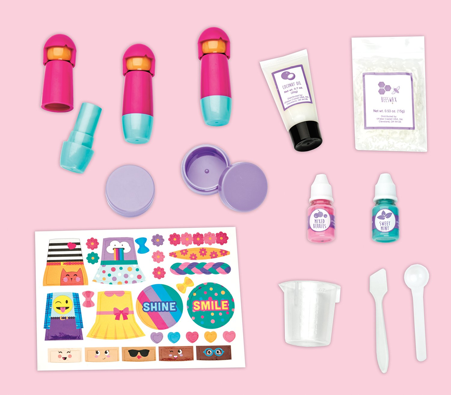 Amazoncom Creativity For Kids Girl Squad Lip Balm  Makes
