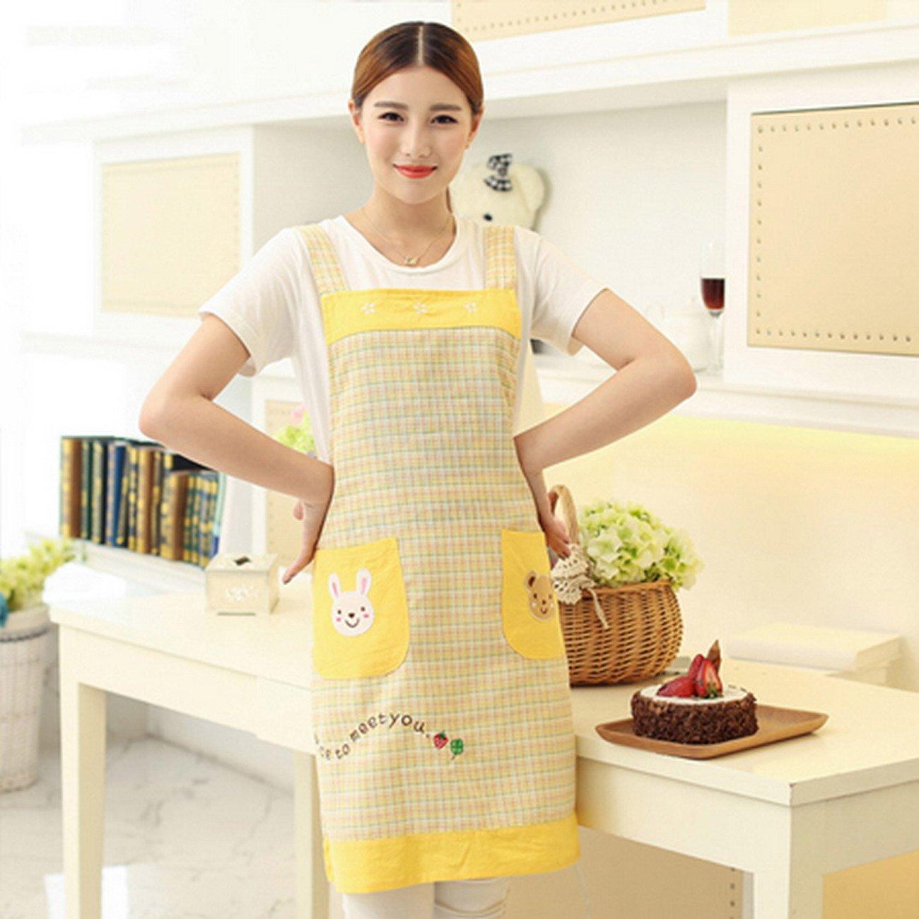 Geranjie Home Furnishingエプロンスカーフマニキュア韓国レストランキッチンエプロン幼稚園Overalls for Woman   B078RGV1HX