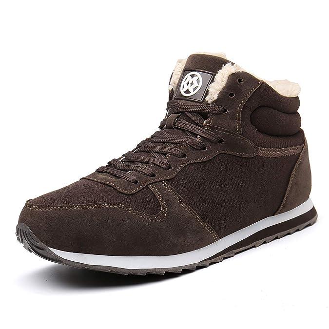 Eagsouni Winterschuhe Herren Damen Stiefel Schneestiefel Warm Turnschuhe Sneakers Gefütterte Boots Draußen Schuhe Laufschuhe Unisex Größe