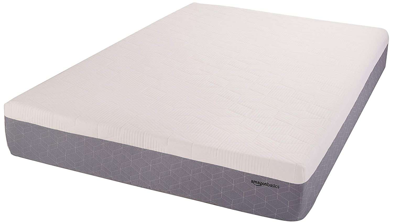 AmazonBasics Cooling Gel-Infused Memory Foam Mattress - Medium Firmness, CertiPUR-US Certified - 12-Inch, Queen