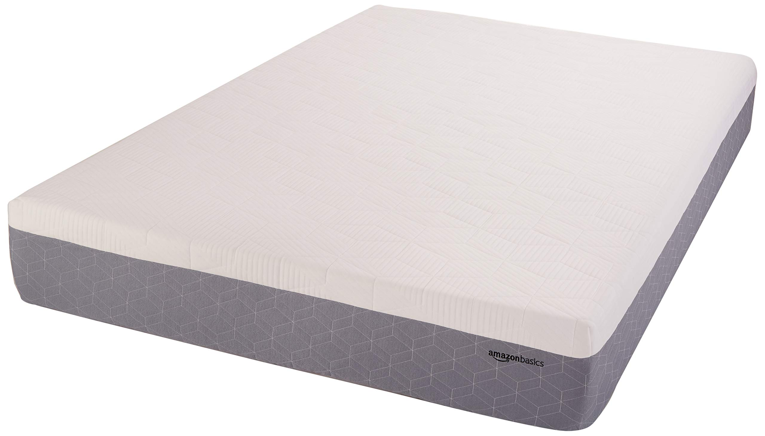 AmazonBasics Cooling Gel-Infused Memory Foam Mattress - Medium Firmness, CertiPUR-US Certified - 12-Inch, Queen by AmazonBasics