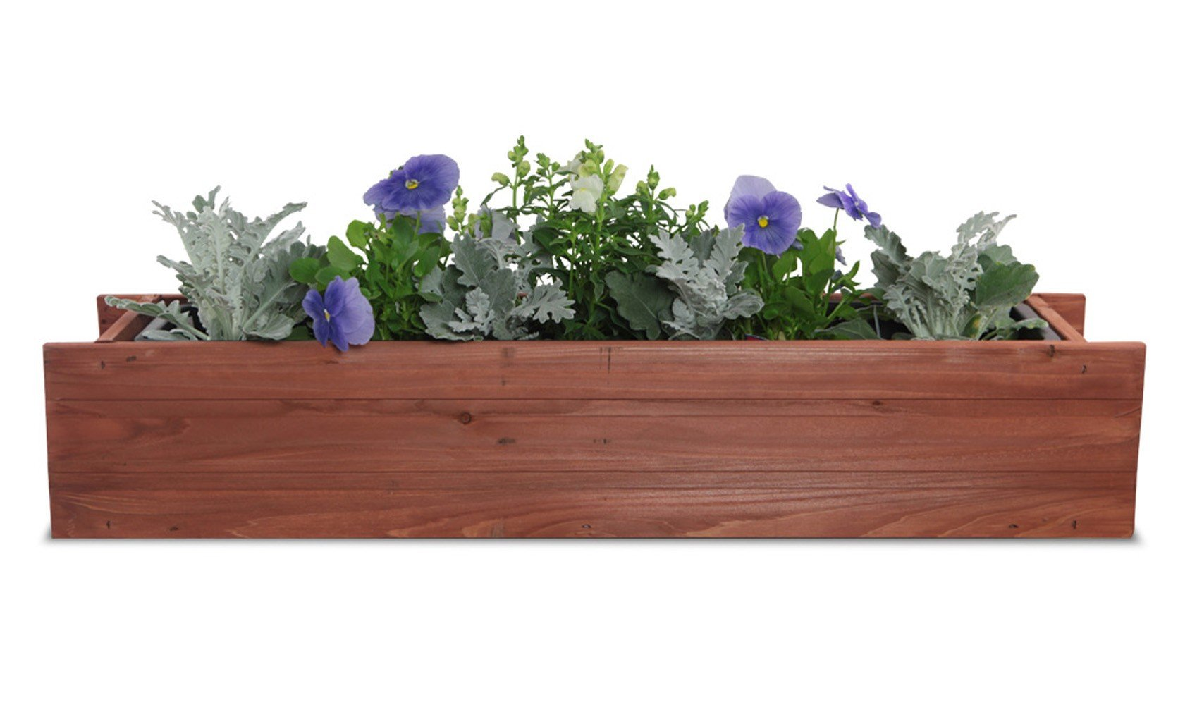 Matthews Window Box with Planter Guard Heartwood, 6'' x 36'' x 7''
