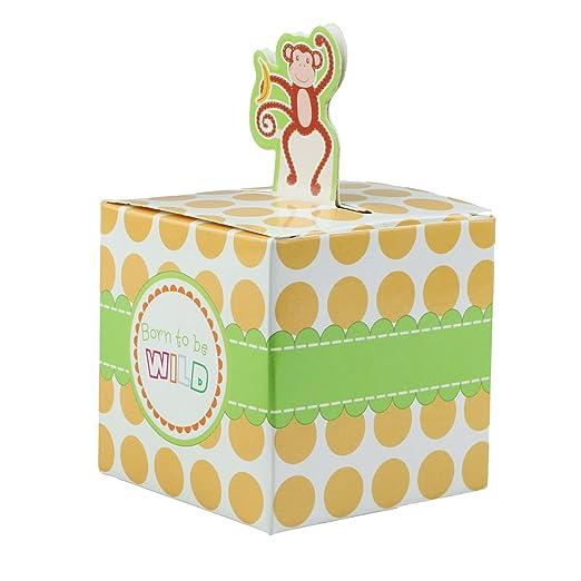 vlovelife 50pcs patrones de tigre Candy Favor cajas fiesta ...