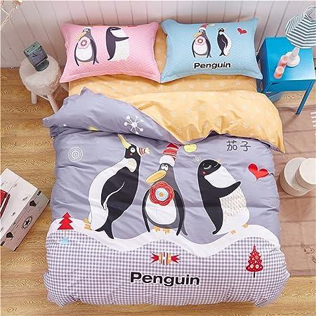 Forever Cute dibujos animados pingüino Edredón impreso, (color ...