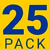 "25 Pack | 8"" Solid Brushed Nickel T Bar Cabinet"