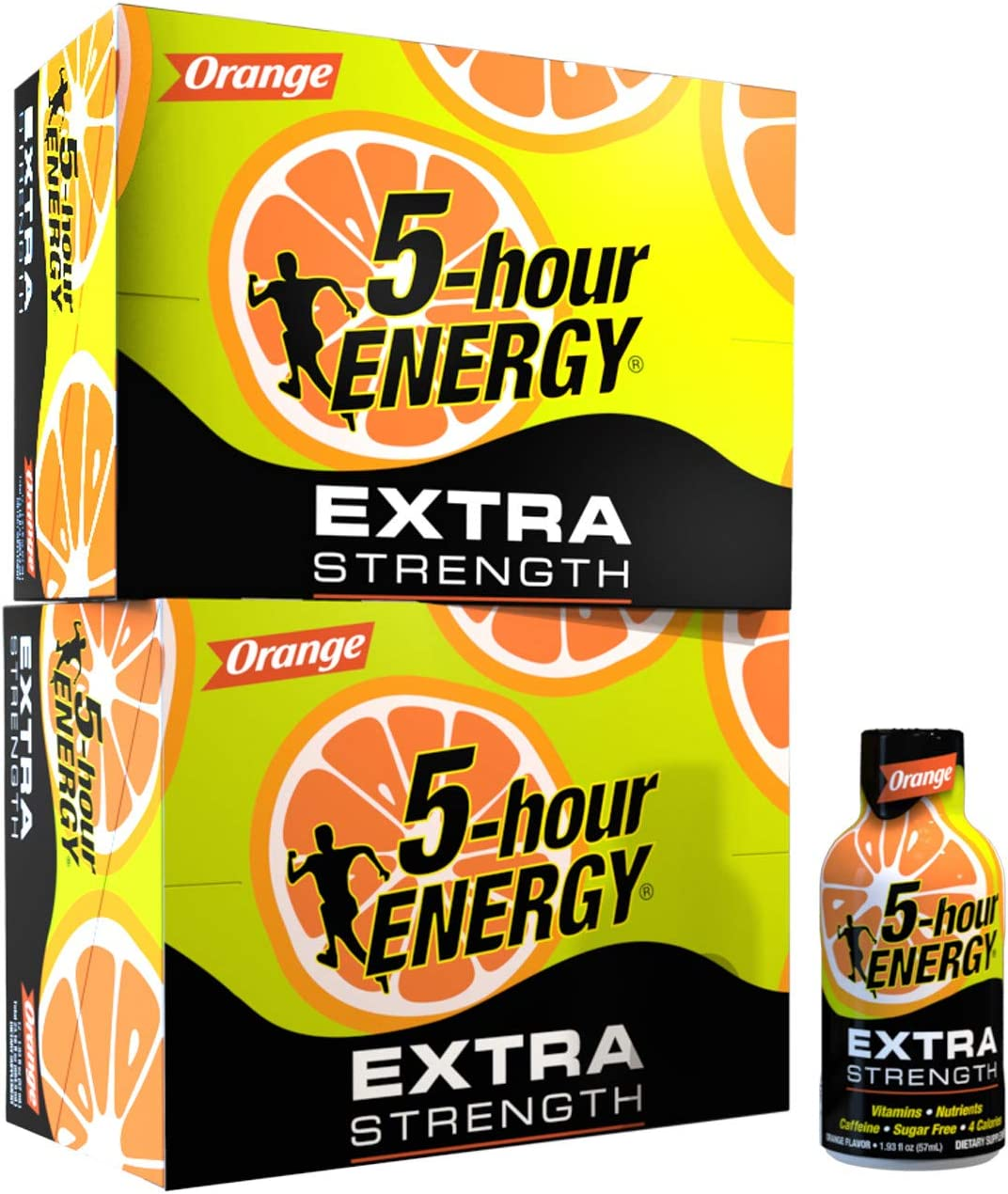 5-hour Max 60% OFF ENERGY Shot Extra Strength 1.93 Count Orange Ounce 24 Al sold out.