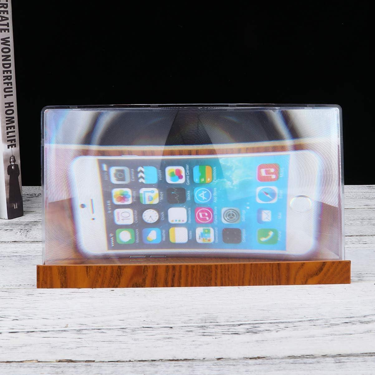 Hemobllo - Amplificador de Pantalla para Smartphone, antiBlu-Ray ...