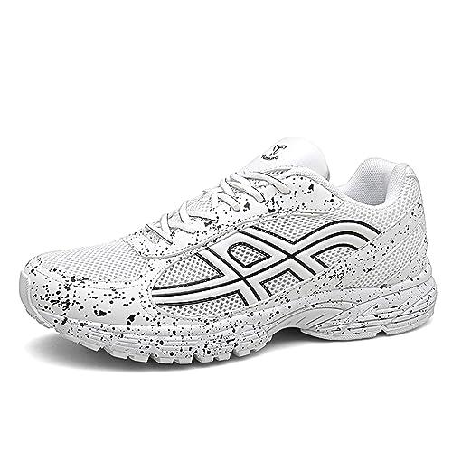 Axcone Zapatillas Hombres Mujer Deporte Running Zapatos para ...