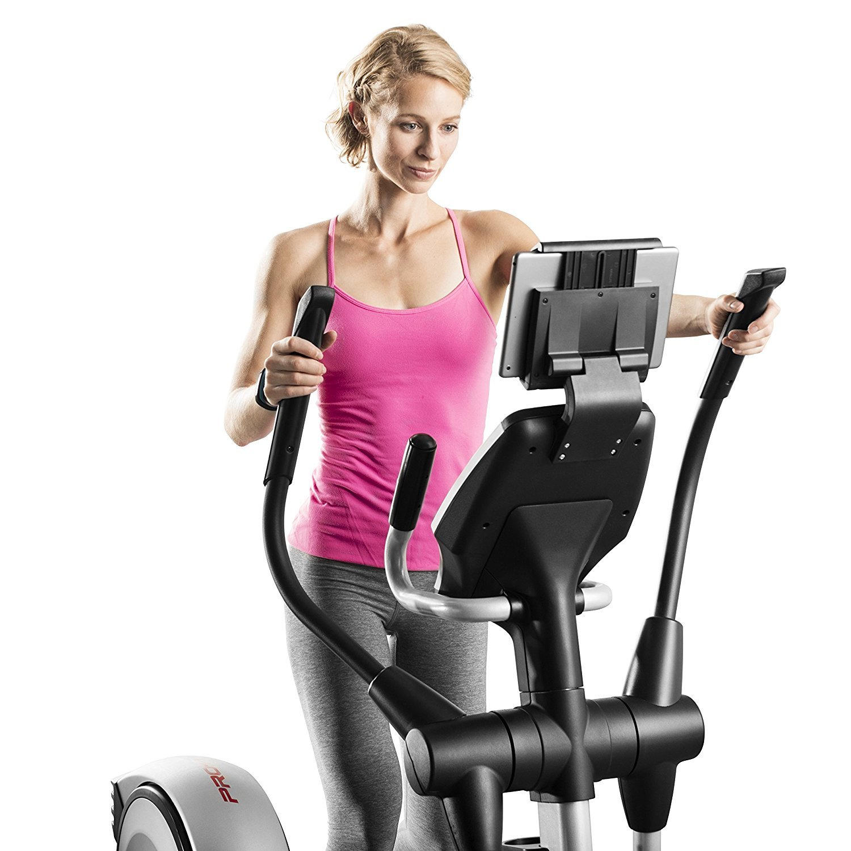 Proform Smart Strider 495 CSE casa elíptica W/Pantalla Táctil en color + esterilla de gimnasio: Amazon.es: Hogar