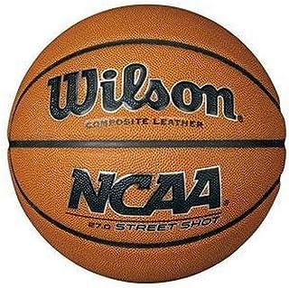 WILSON - NCAA Street Shot 275 - Ballon de Basket - Orange - Taille Unique