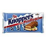 Knoppers NussRiegel – der erste Riegel auf Knoppers Art – 5er Packung 5er Pack (5 x 200 g)