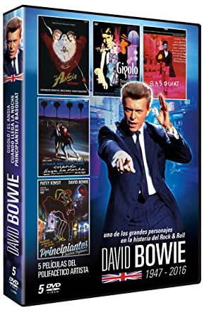 David Bowie (Pack) [DVD]: Amazon.es: Benicio Del Toro, Daniel Craig, David Bowie, Eddie O´Connell, Jeff Goldblum, Michelle Pfeiffer, David Hemmings, John Landi, Benicio Del Toro, Daniel Craig: Cine y Series TV