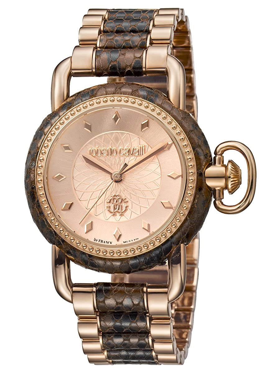 Roberto Cavalli by Frank Muller Moving Crown Detail Womens 36mm Watch  RV1L017M0146  Amazon.co.uk  Watches 6deb9f4edcf