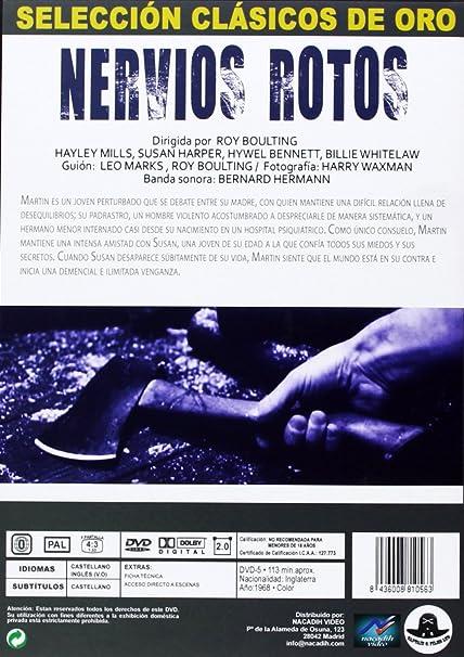 Nervios Rotos [DVD]: Amazon.es: Hayley Mills, Susan Harper, Hywel ...