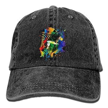 ONGH Pinte el Sombrero Colorido del Dril de algodón de la Cebra la ...