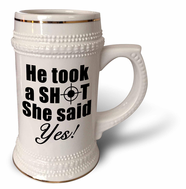 he took a shot and she said yes