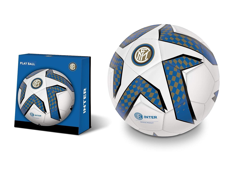 Mondo-13748 Inter - Balón de fútbol, Color Negro y Azul, 13748 ...