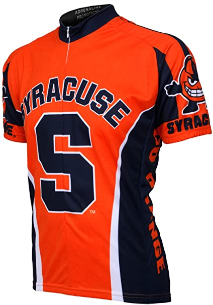 quality design 4c6e2 186c3 NCAA Syracuse Orange Cycling Jersey