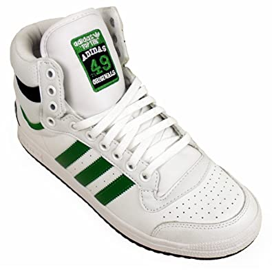 best website 253e4 f30e0 Mens Adidas Top Ten Hi Tops Basketball Boot Trainers Ankle Skate Shoe UK 12