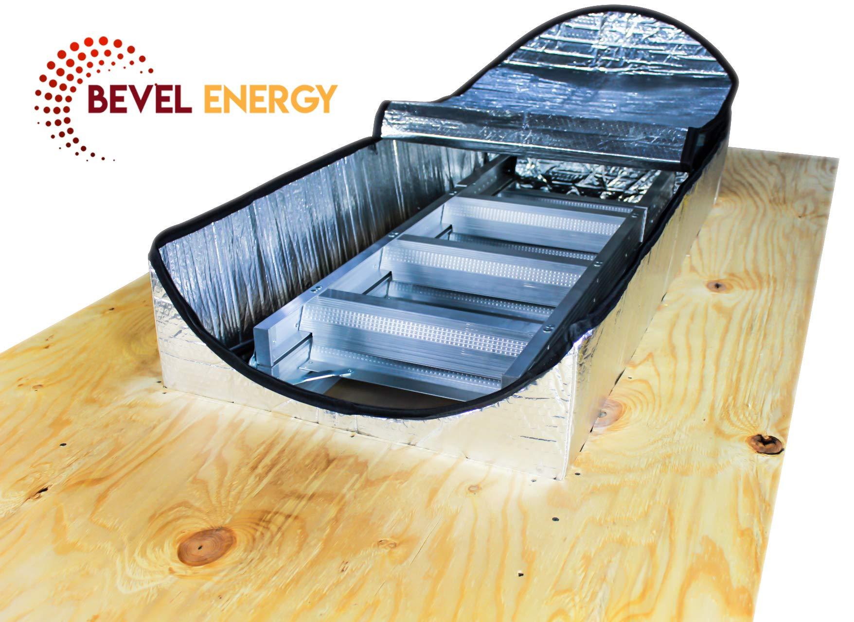 Premium Energy Saving Attic Door Insulation Stairway Cover Stair Ladder Opening Attic Tent with Easy Access Zipper 25'' x 54'' x 11''