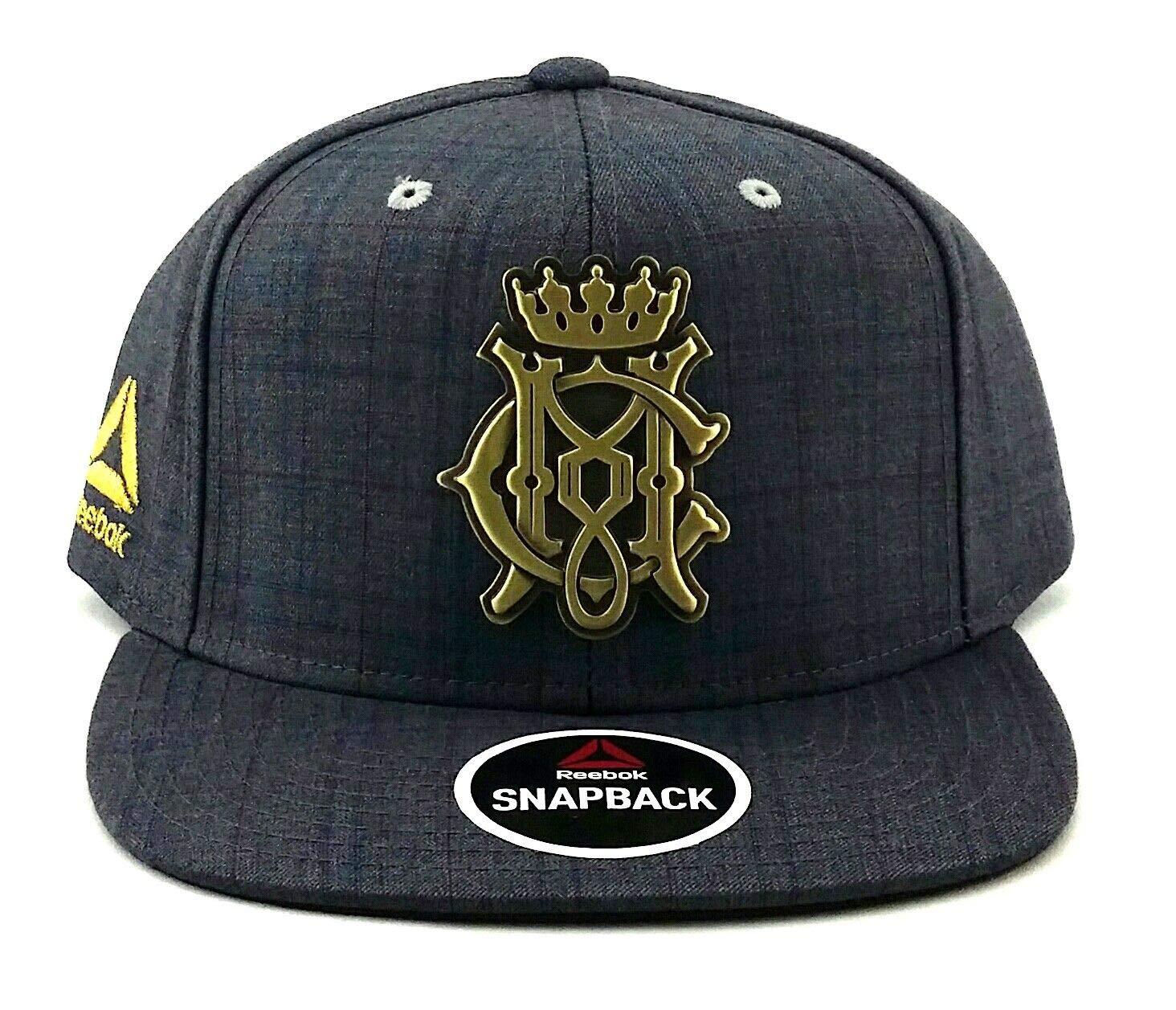 450f32626cdcd6 Amazon.com : Reebok Conor McGregor Plaid Snapback Hat : Sports & Outdoors