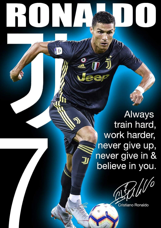 /Football/ /Real Madrid/ /Classique Poster A3 Cristiano Ronaldo/