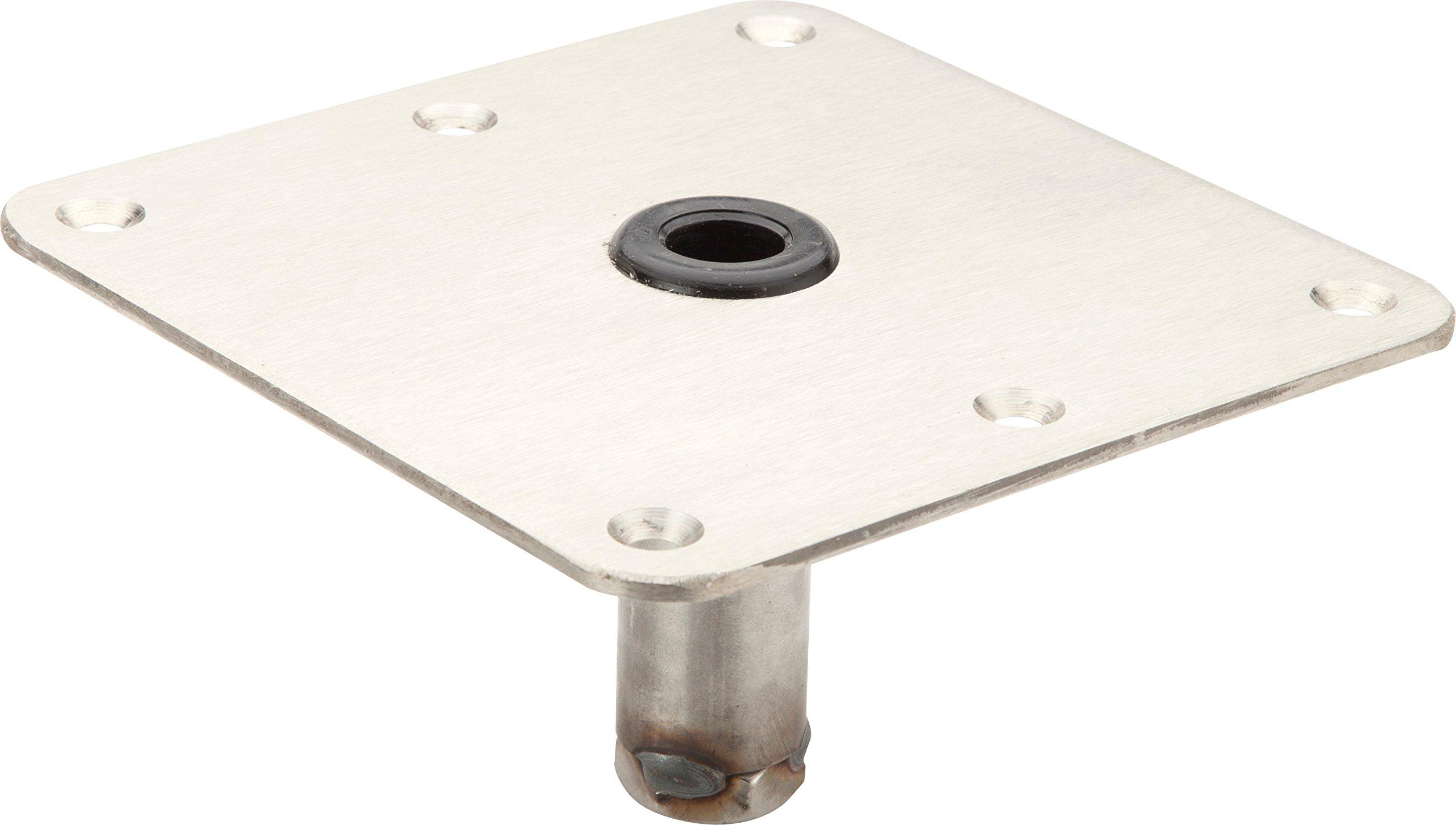 Pin Pedestal Base, 7x7 Stainless Steel
