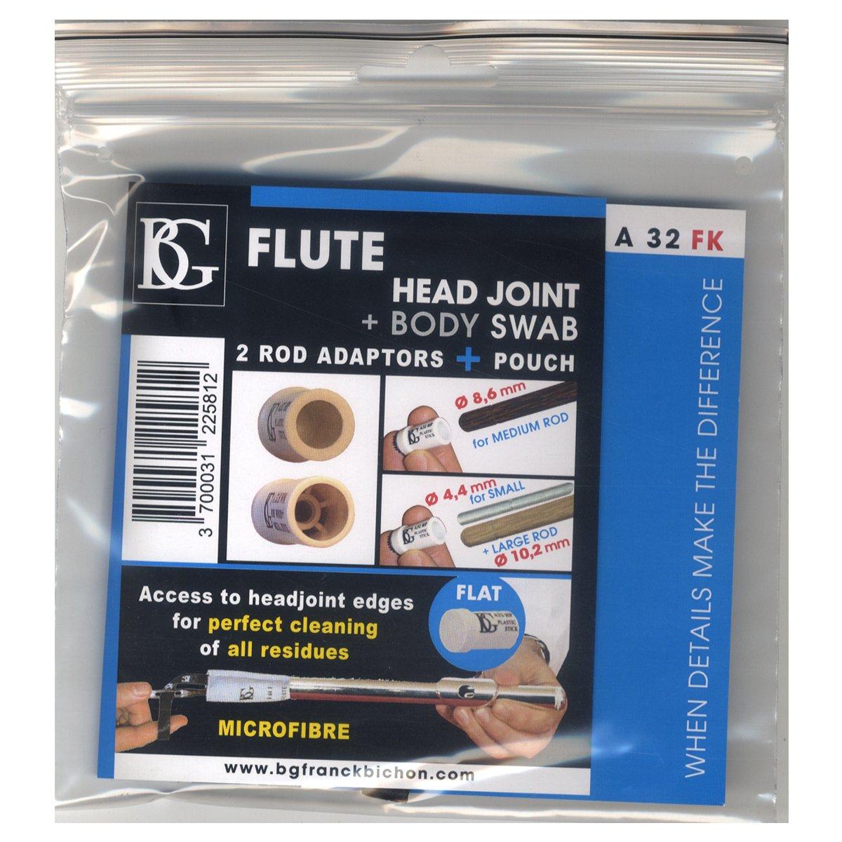 BG Flute Head Joint + Body Swab Pouch A32FK