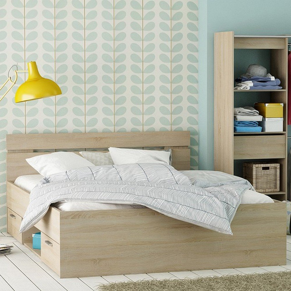 HTI-Living Bett Michigan 140 x 200 cm: Amazon.de: Küche & Haushalt