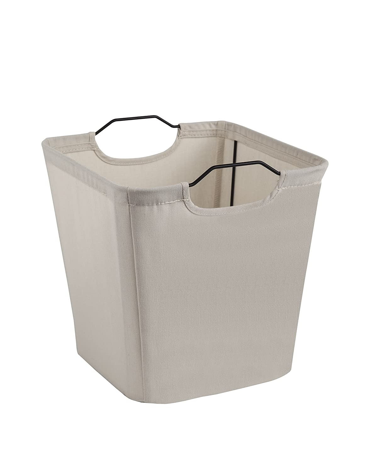 ClosetMaid 13025 Cubeicals Wire Frame Fabric Storage Bin with Handles, Aqua