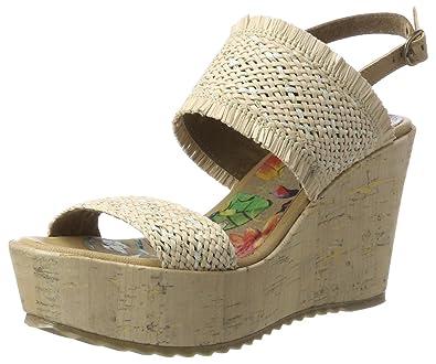 et Chaussures Chaussures Sacs Femme Rina Bunker compensées qzafwXRR