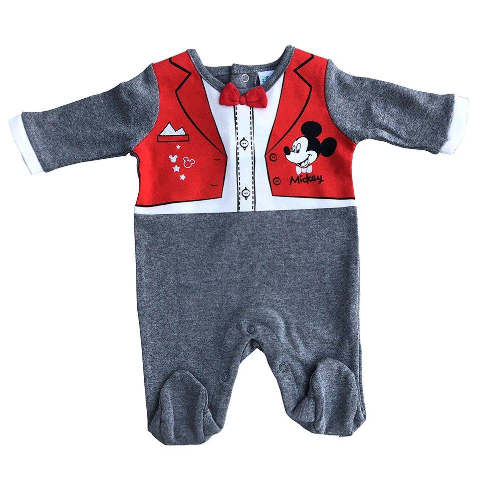 Mickey Pyjama 0/1/3/6 Mois