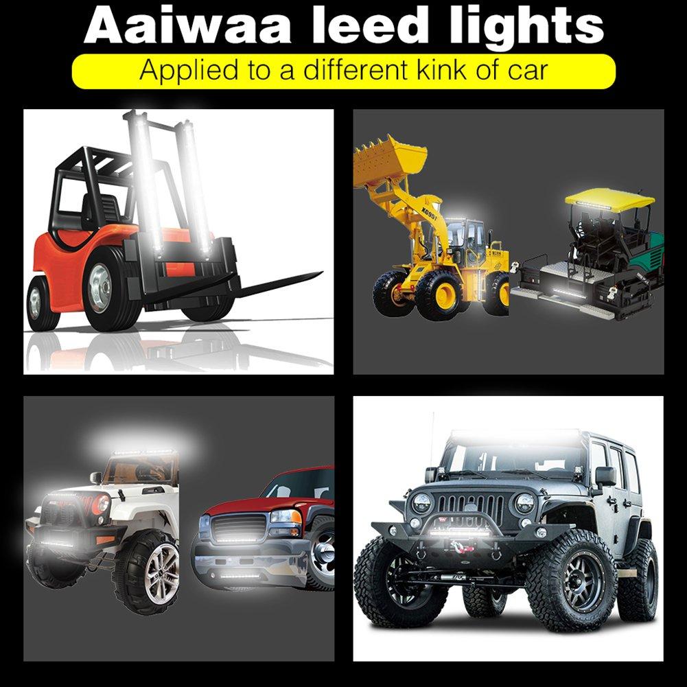 etbotu 1/33/cm 36/W einreihig Off Road LED Leuchtmittel-Bar fahren//Arbeit Lichter f/ür LKW ATV Cars