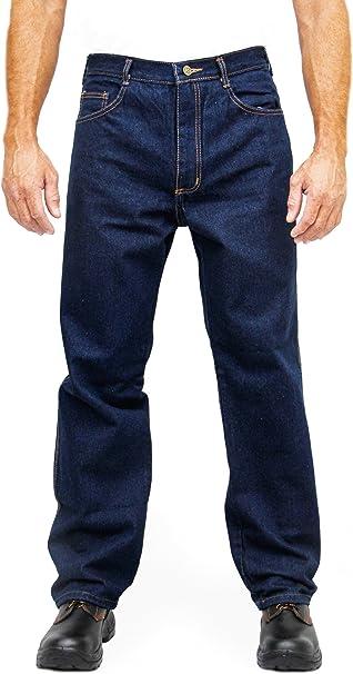 Amazon.com: Kolossus - Pantalones vaqueros de trabajo con ...