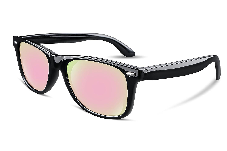 FEISEDY Occhiali da sole Polarizzati Classici Retr/ò da Uomo e da Donna Con Montatura Composita UV400 B1858//B2438