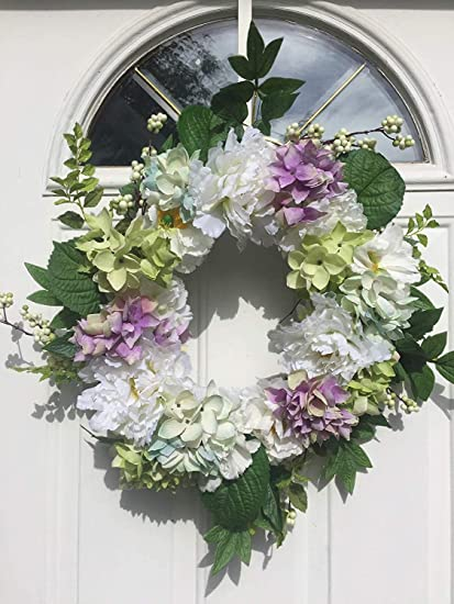 Amazon Com Wreaths For Door Pure Elegance Spring Door Wreath 20