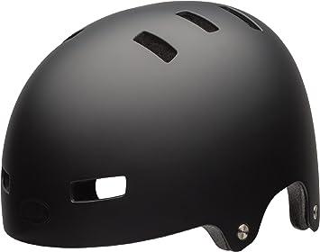 Bell Helmets Local Monopatín Negro Casco de protección - Cascos de protección (Monopatín, Negro