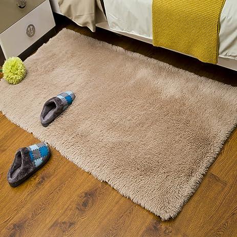 Amazon.com: Padded Washable Floor Mat Bedroom Bedside Mats Bay ...