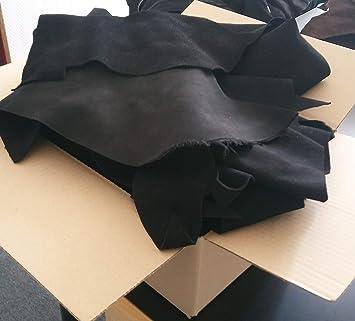 ideal Zum Basteln und Nähen braun Bastel-Leder Raulederstücke 1,5 Kg Alle Stücke handgroß und größer