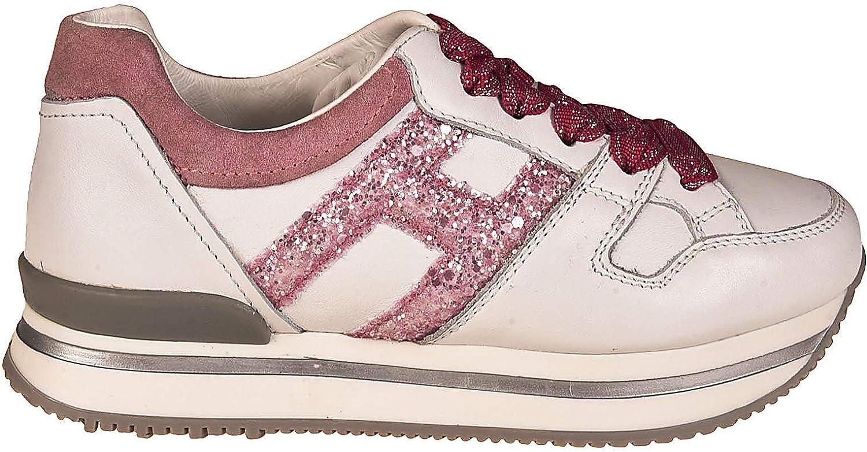 Hogan Luxury Fashion Girl HXC2220T548ICB0KQ0 White Other Materials Sneakers Season Permanent