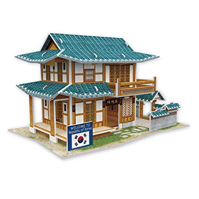Cubicfun Cubic Fun 3d Puzzle Model 46pcs Pastry Shop in South Korea: Toys & Games