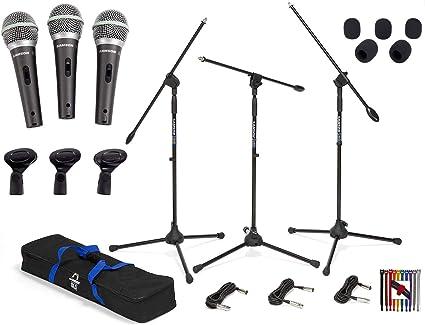 Samson R21S Dynamic Microphone with Mini Tripod Stand