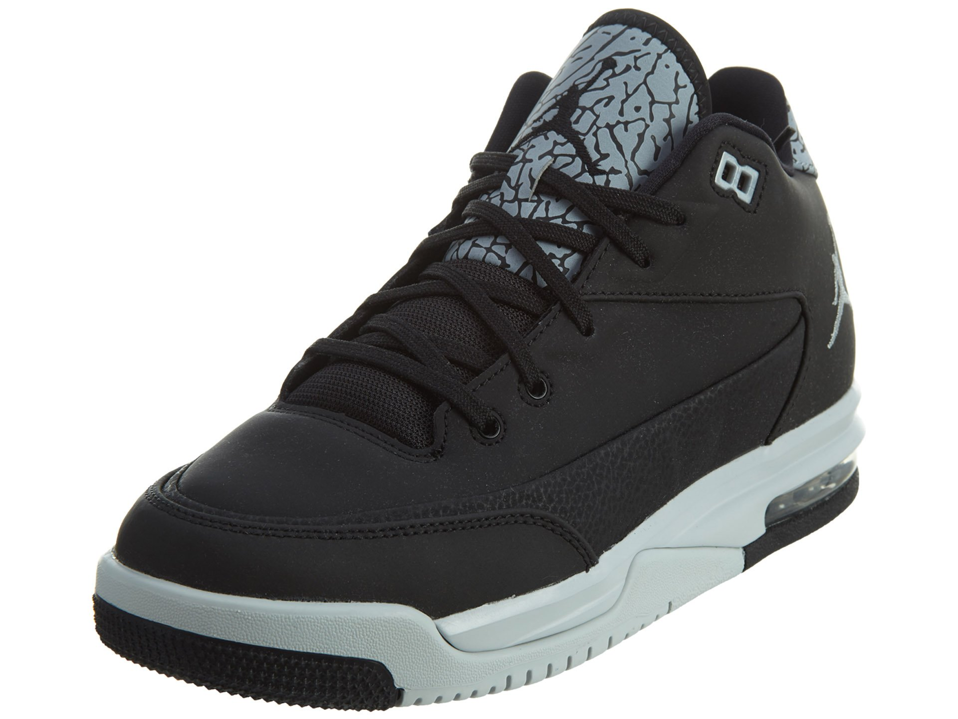 info for 04e4a 8d420 Galleon - Jordan Nike Kids Flight Origin 3 Bg Black Metallic Silver Pr  Pltnm Basketball Shoe 5 Kids US