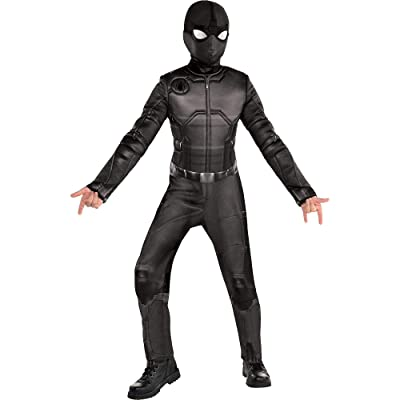 Party City Spider-Man: Far From Home Spider-Man Stealth Suit Costume for Children, Includes Mask and Goggles: Clothing