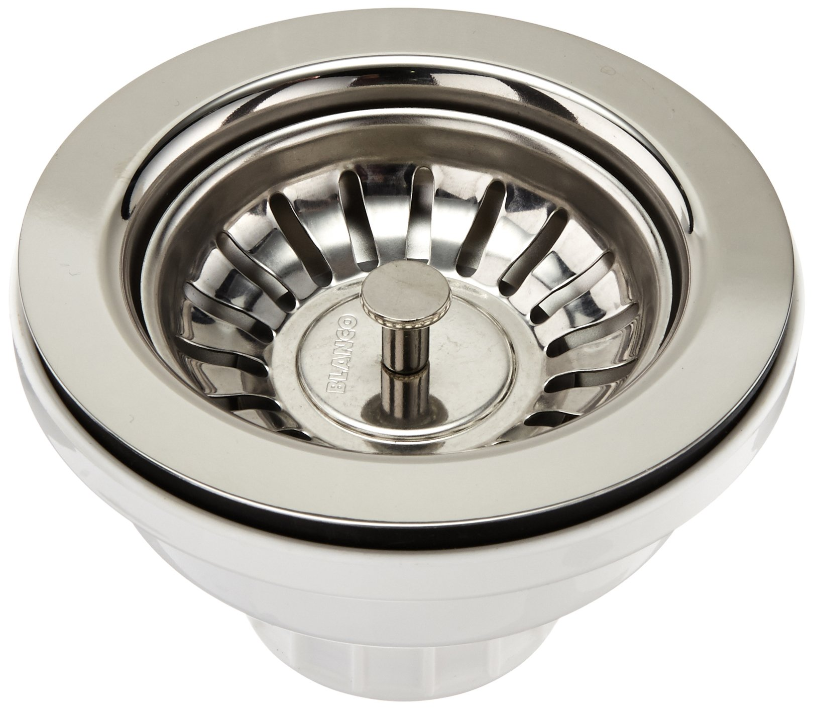 Blanco BBS-SS-B 3-1/2-Inch Basket Strainer, Stainless Steel Finish