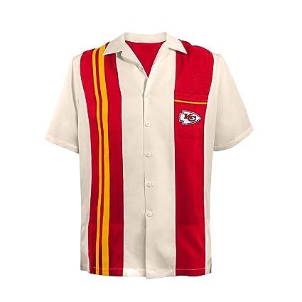 cheap for discount 70d32 e0748 Amazon.com : NFL Kansas City Chiefs Spare Bowling Shirt, 4XL ...