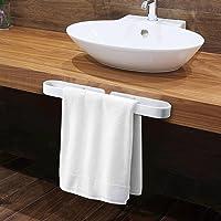 KINLO Handdoekhouder, 40 cm, zelfklevende handdoekring, zonder boren, anti-roest, gastenhanddoekhouder, wandmontage…